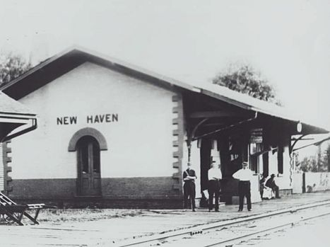 Michiganrailroads Com New Haven Mi